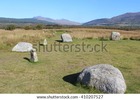 Flat Stone Circle on Isle of Arran