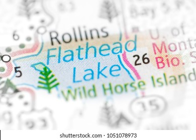 Flathead Lake. Montana. USA