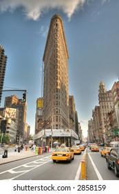 Flatiron Building - Manhattan - New York - sepia