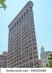 Flatiron Building at New York City, NY, USA on the July 31, 2017