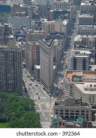 Flatiron from Empire State Building