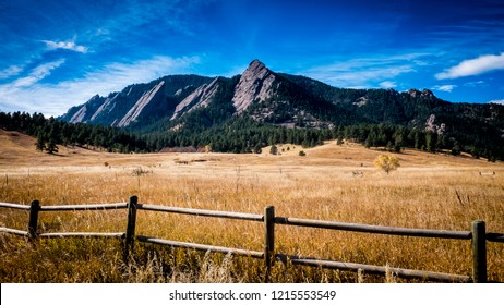 Flatiron Mountains in Colorado