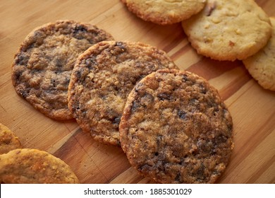 Flatlay image of Homemade Chocolatechip cookies