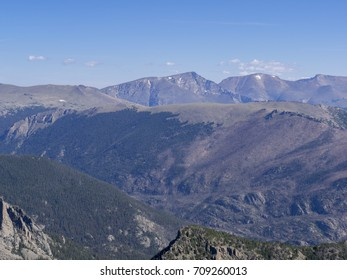 Flattop Mountain in Rocky Mountains National Park.
