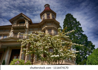 Flavel House museum in Astoria Oregon