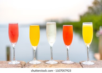 Flavored Prosecco and Mimosas