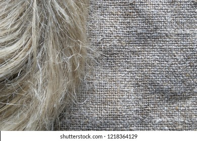 Flax fibers for the production of linen fabrics, linen yarn and thread.