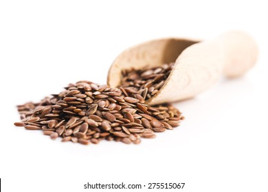 Flax seeds, Linseed, Lin seeds close-up
