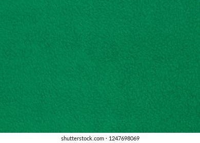 Fleece fabric green background texture