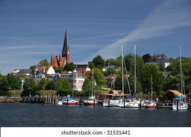 Flensburg - a German city near Danish border.