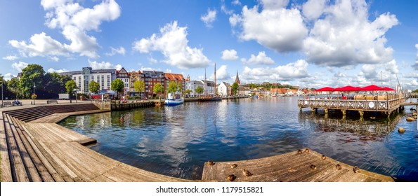Flensburg, Harbour, Germany