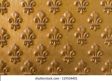 Fleur De Lys on the Doors of Napoleon's Tomb in Paris