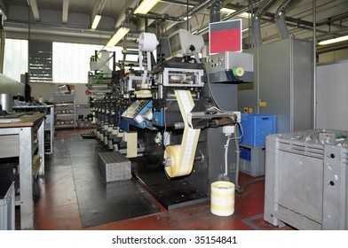 Flexo printer. Flexography, often abbreviated to flexo, is a method of printing most commonly used for packaging, labels, tape, bags, boxes, banners.