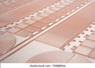 Flexographic Printing Plate Close up