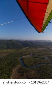 Flight in a Microlight South Africa