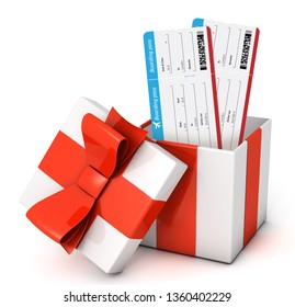 Flight tickets gift