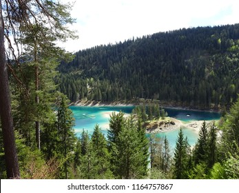 Flims Switzerland Lake Cauma