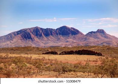 Flinders Ranges mountains in central Australia