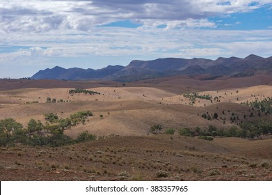 The Flinders Ranges National Park has spectacular views of outback South Australia