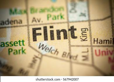Flint. Michigan. USA