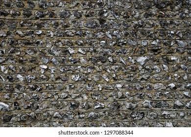 Flint Wall Background