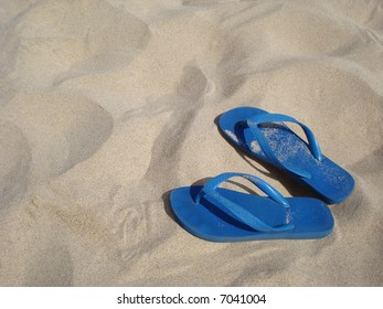 Flip-Flops On Sand