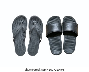 Flipflops - White background