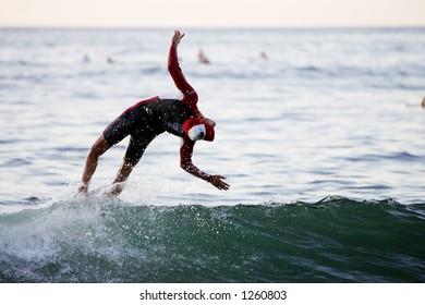 flippin' surfer