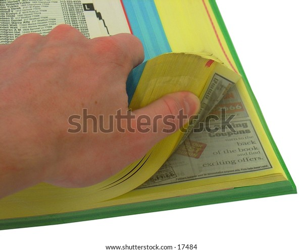 Flipping through the yellow pages
