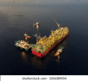FLNG Prelude is the world's largest floating facility located offshore Australia at Browse region