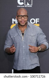 Flo Rida at the Cartoon Network Hall of Game Awards, Barker Hangar, Santa Monica, CA 02-18-12