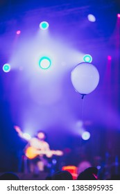 Floating Balloons in the night party