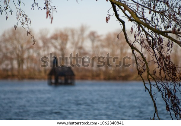 floating church at water