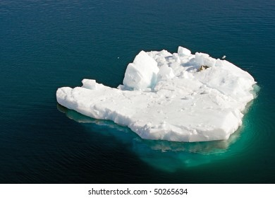 Floating iceberg, Antarctica
