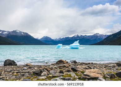 Floating Iceberg in the Lago lake, El Calafate, Perito Moreno Glacier, Patagonia, Argentina