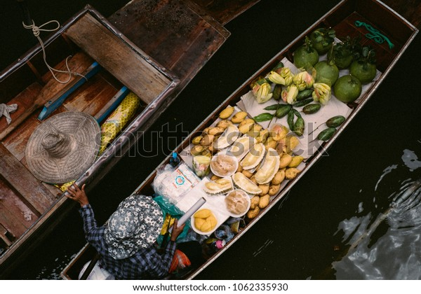 floating Market in Amphawa, Thailand