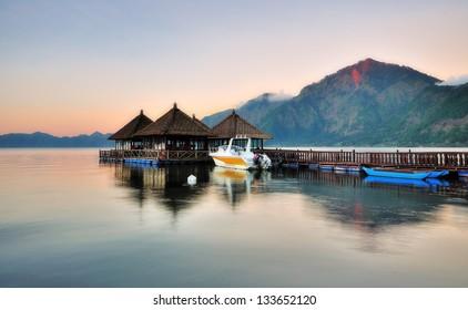 Floating Resort in Kintamani Bali