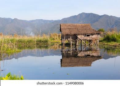 Floating villages of Inle Lake, in Myanmar
