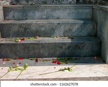 Floers on steps