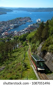 The Floibanen is a funicular railway in the Norwegian city of Bergen. It connects the city centre with the mountain of Floyen