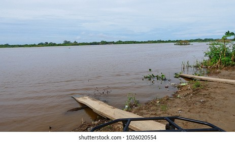 Flood in Bolivia, rio Ibare and Mamore.
