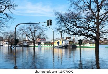 Flood at Dresden
