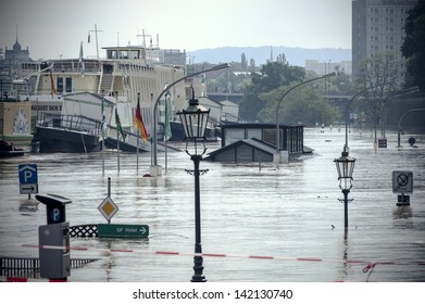 Flood in Germany, Dresden city
