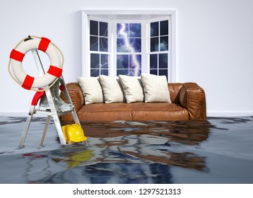 Flood in the house