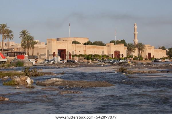 Flood in Nizwa, Oman