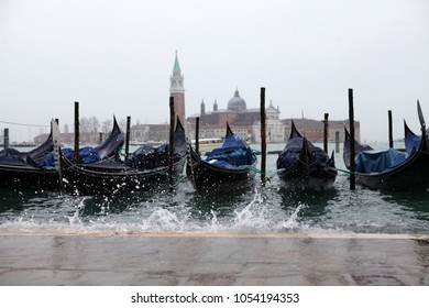 flood in Venice, Italy