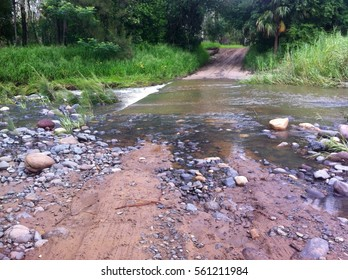 flooded road danger