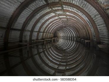 flooded ww2 bunker
