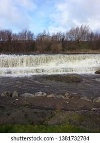 Flooding after heavy rain on Waterfall Tallaght ,