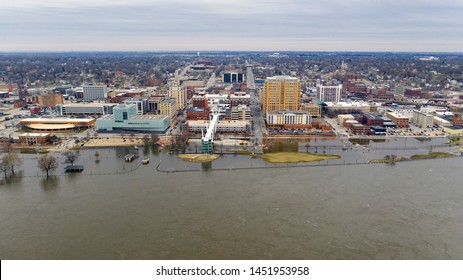 The flooding continues all across the midwest and indeed here in Davenport in 2019